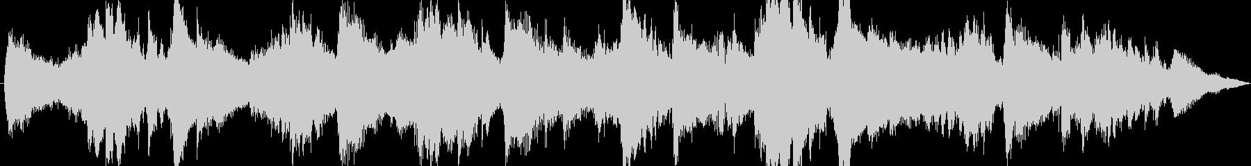 ジングル - しっとりアンビエントの未再生の波形