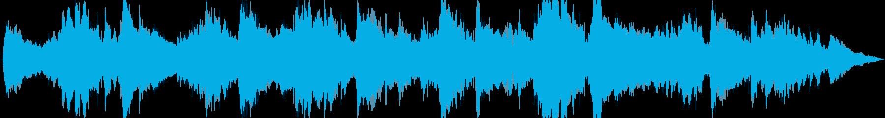 ジングル - しっとりアンビエントの再生済みの波形