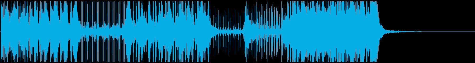 音、リズムが心地良い本格派「和太鼓」曲の再生済みの波形