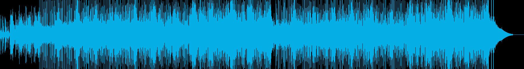 泡風呂 癒しテクノの再生済みの波形