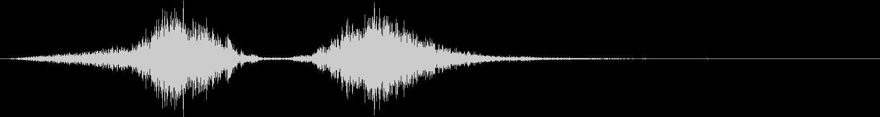シューッという音EC07_90_3の未再生の波形