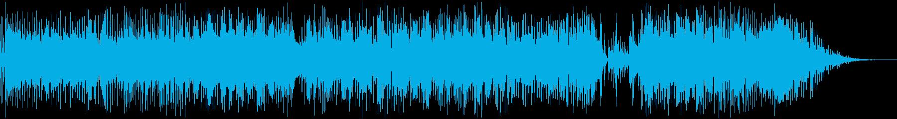 スローテンポで流れるポップフォーク...の再生済みの波形