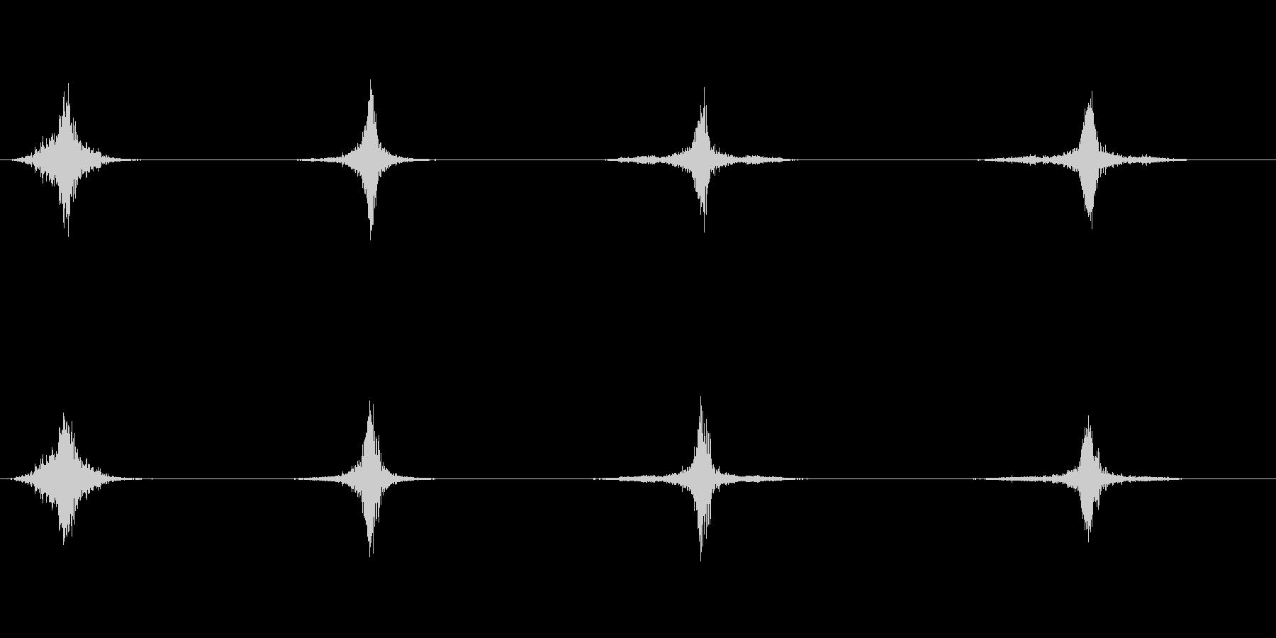 スペース、2で高速フーの未再生の波形