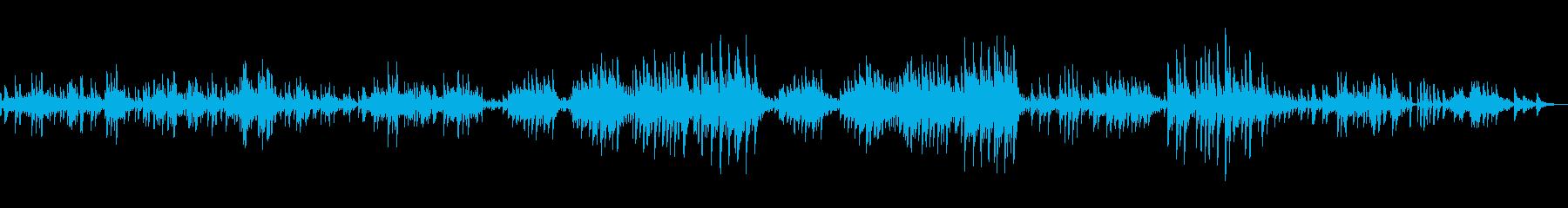 ショパンの前奏曲 第15番《雨だれ》の再生済みの波形