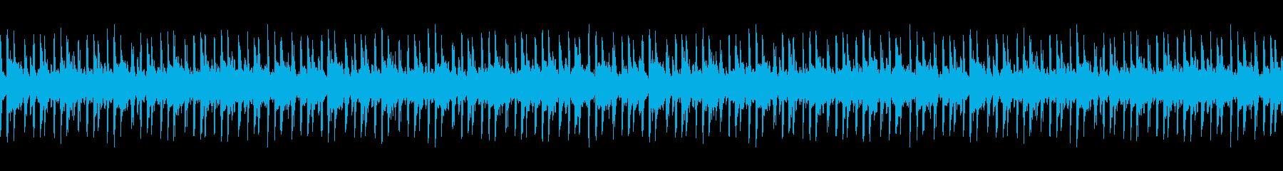 【汎用性高/キラキラなギターアルペジオ】の再生済みの波形