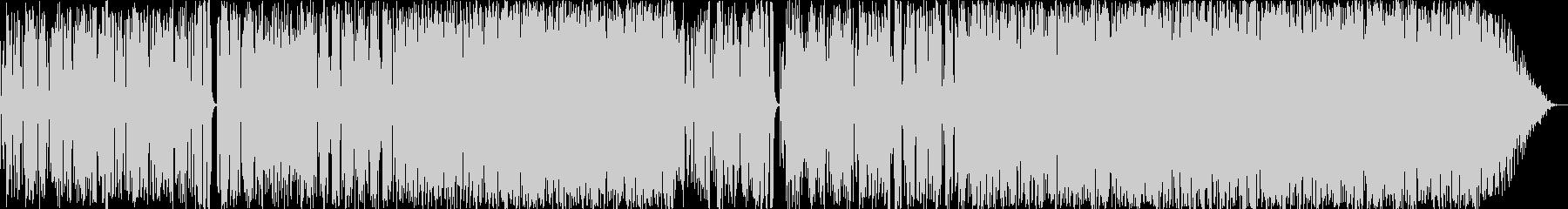 明るいPOPなファンクの未再生の波形