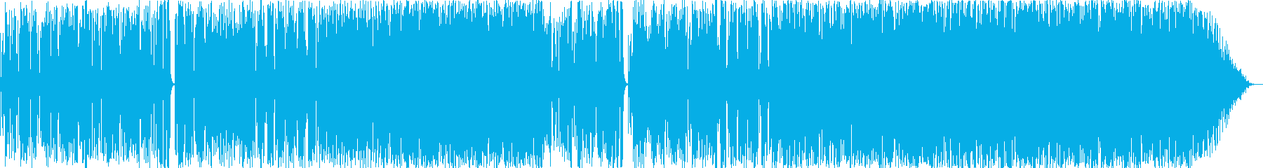 明るいPOPなファンクの再生済みの波形