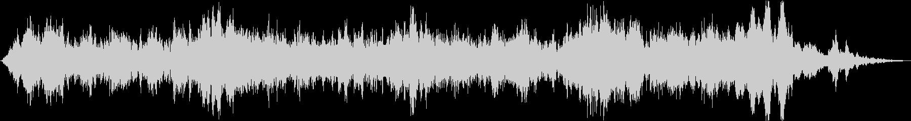 ドローン 必死のチューニング01の未再生の波形