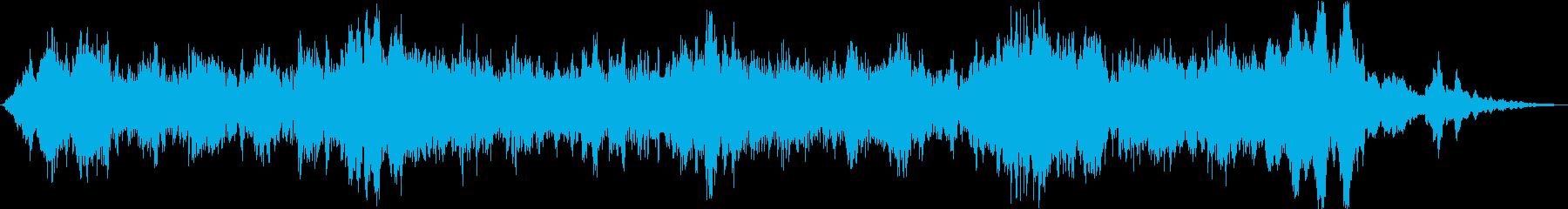 ドローン 必死のチューニング01の再生済みの波形