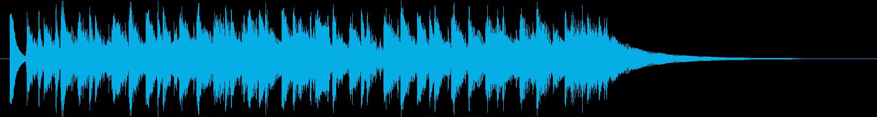 明るくポジティブなコーポレート音楽!の再生済みの波形