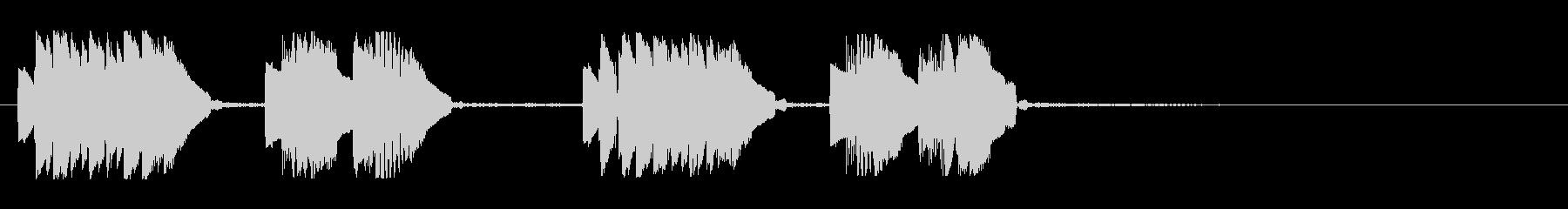 KANT近未来アラーム010234の未再生の波形