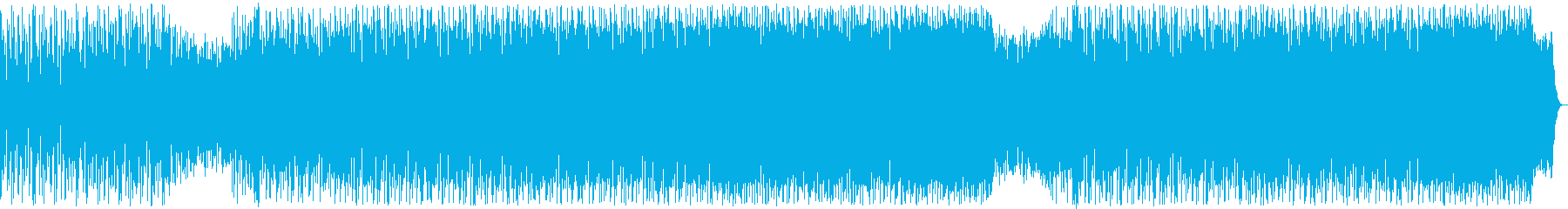 A song in which a lively scream produces a surge's reproduced waveform
