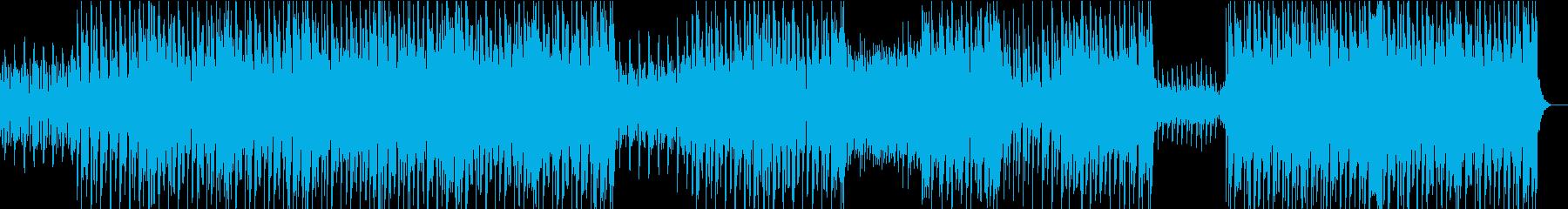 酸性のシンセとフランジ付きギターの...の再生済みの波形