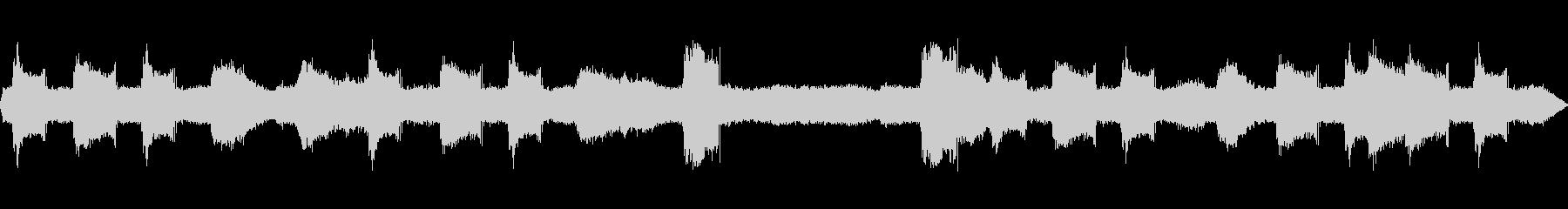 ヒグラシの鳴き声の未再生の波形