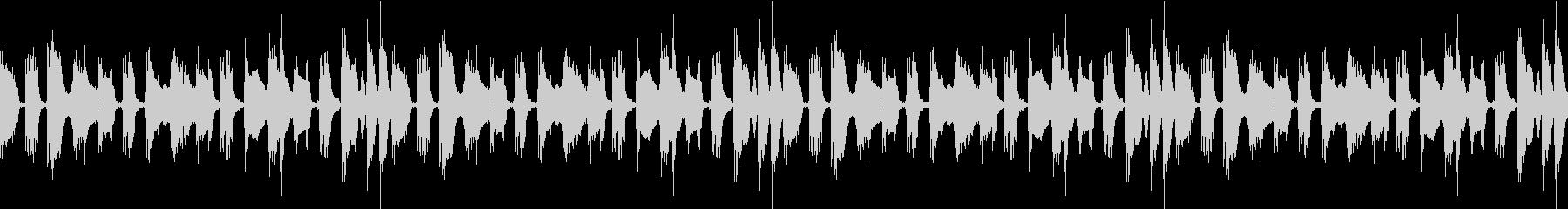 カウボーイブルースループの未再生の波形