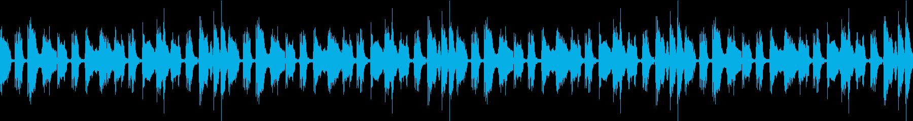 カウボーイブルースループの再生済みの波形