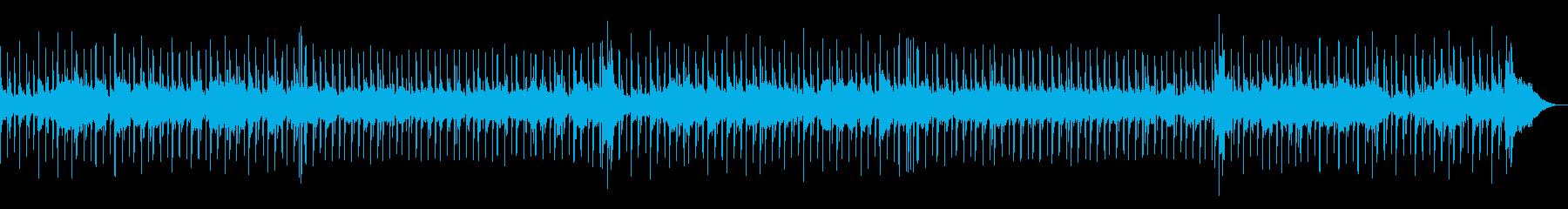 ムーディーな夜を演出するBGMの再生済みの波形