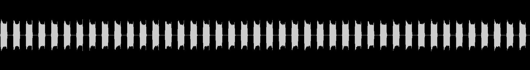 スマホ・携帯のバイブ音 ブー・ブーの未再生の波形