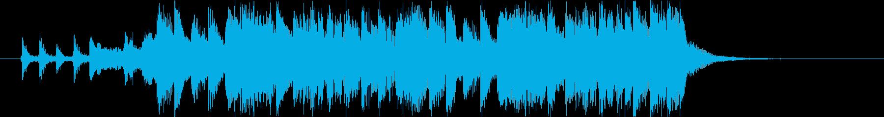 ホラーと魔法のキラキラなジングル J10の再生済みの波形
