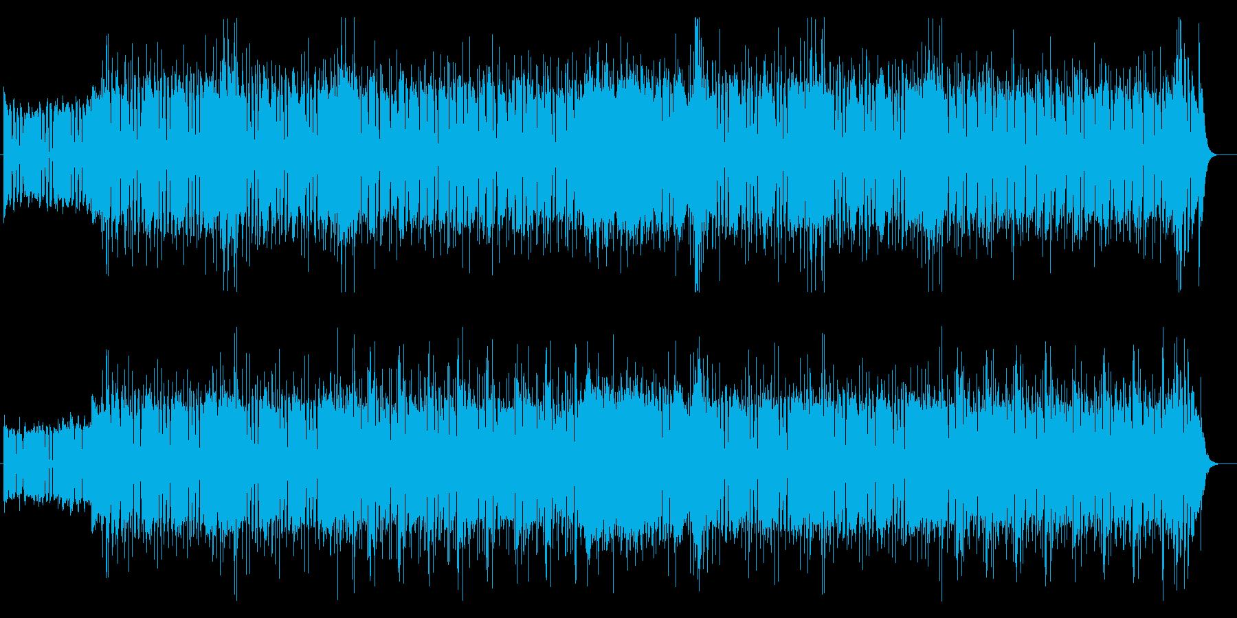 ポップなストーリー向きBGMの再生済みの波形