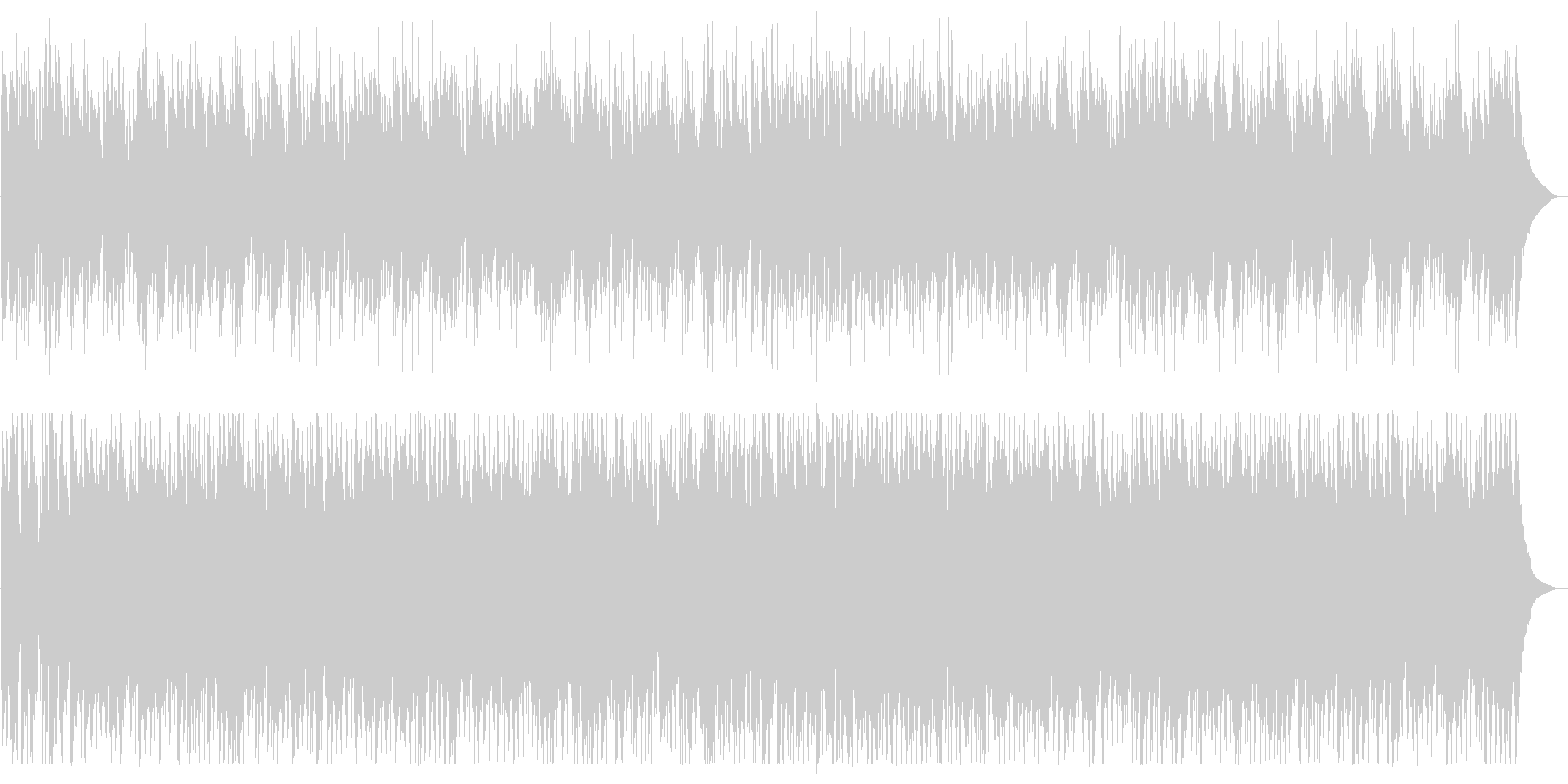 アヴェ・マリア(acoustic)の未再生の波形