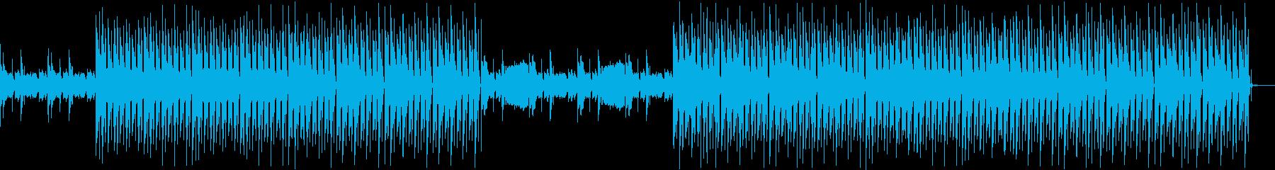 おしゃれ・空気感・EDM・透明感6の再生済みの波形