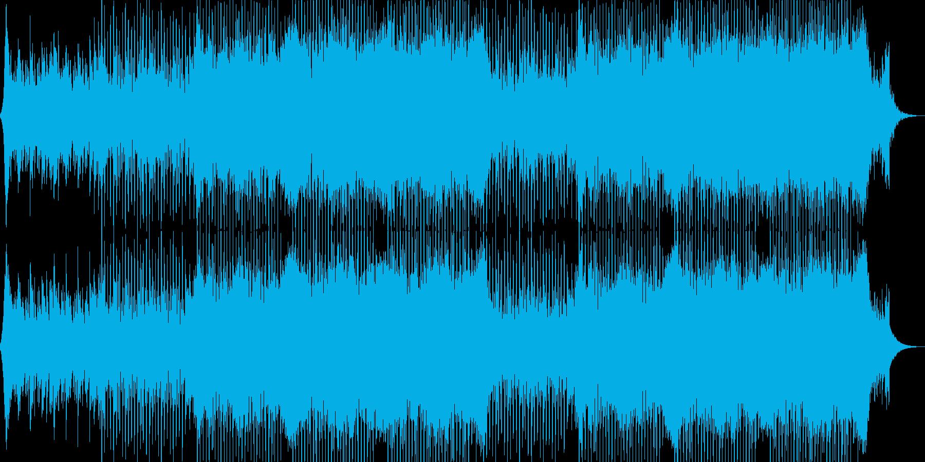 企業VP系43、爽やかギター4つ打ちaの再生済みの波形