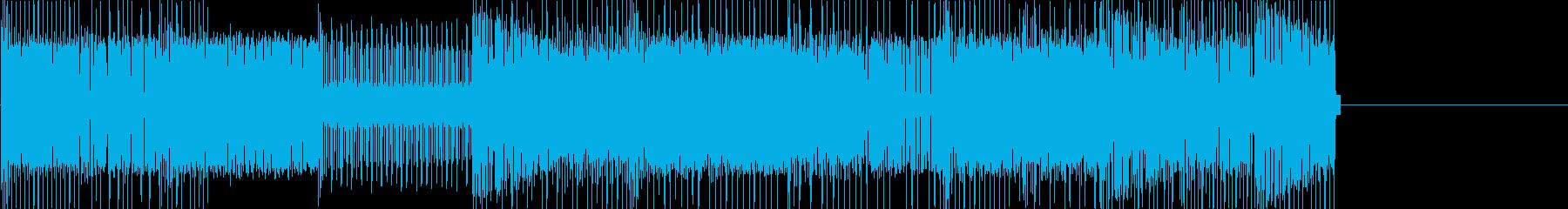 レトロゲームなチップチューンジングル24の再生済みの波形