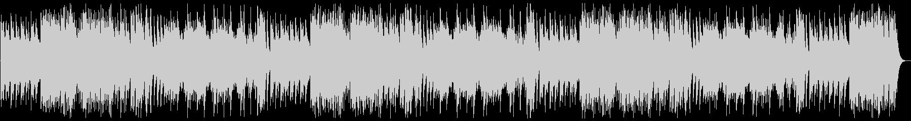 優しい音階のハンドベルのオルゴールの曲の未再生の波形