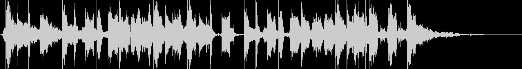 エレクトロサウンド15秒CM楽曲。の未再生の波形