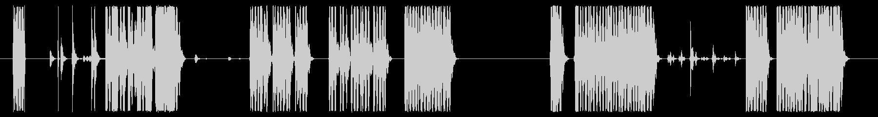 イメージ 古いスキャナー03の未再生の波形