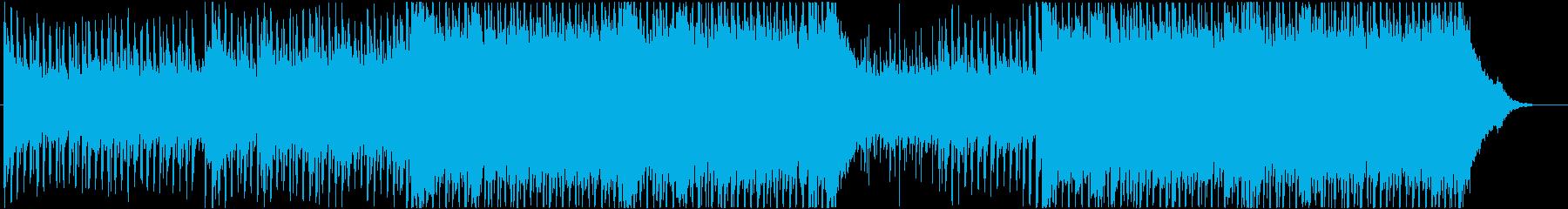 Refreshing guitar pop EDM's reproduced waveform