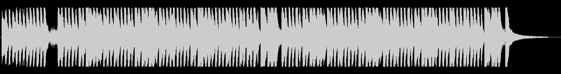 ハッピー楽しく明るいポップなオーケストラの未再生の波形