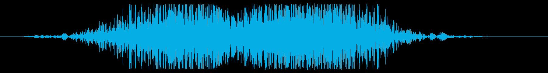 ヘビーメタルスキャンスイープの再生済みの波形