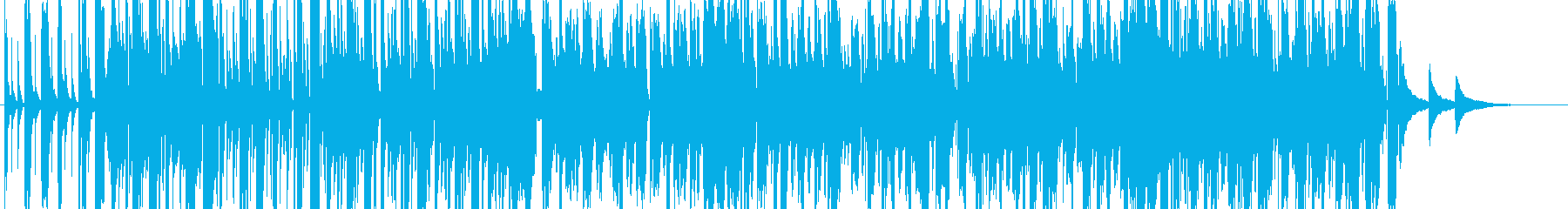 kawaii pop おしゃれで可愛い曲の再生済みの波形