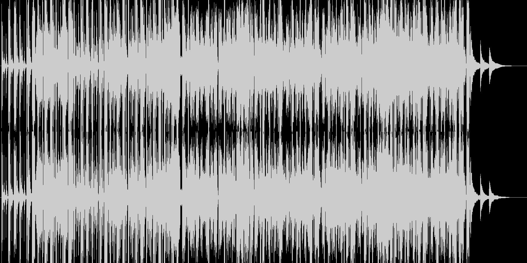 kawaii pop おしゃれで可愛い曲の未再生の波形
