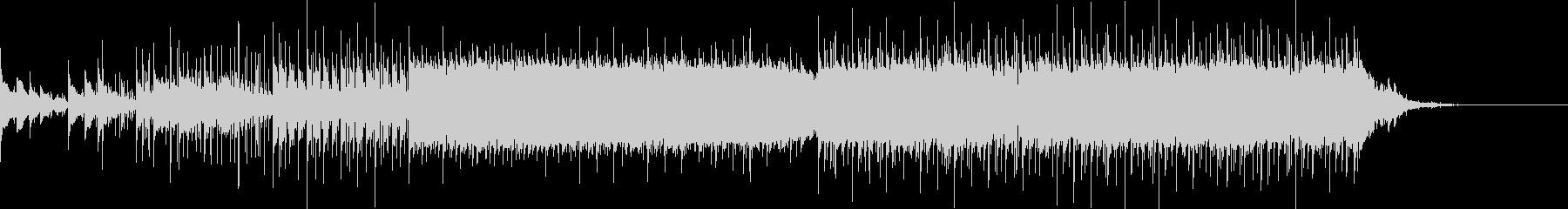ベル音を基調としたエレクトロニカの未再生の波形