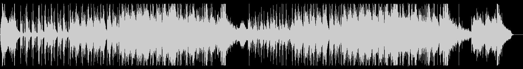 和楽器によるオリエンタルな楽曲の未再生の波形