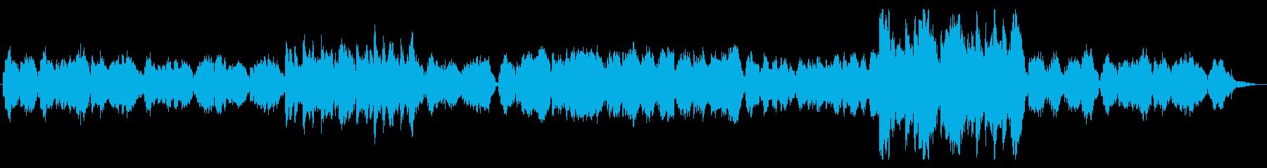 和風で癒し系バイオリン_打楽器なし版の再生済みの波形