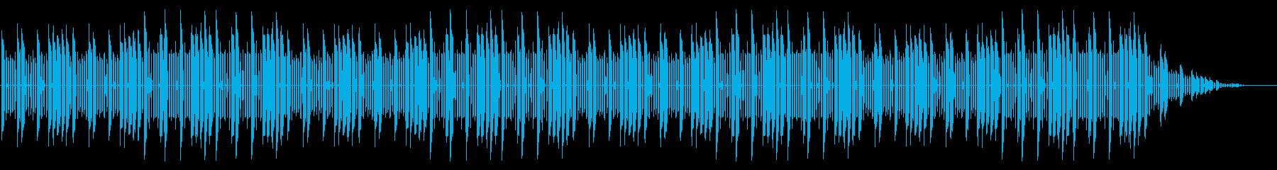 GB風スポーツ系格闘ゲームのタイトル曲の再生済みの波形