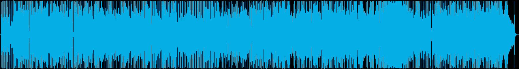スーパーウルトラミラクルファイヤーサンダーエキセントリックダイナマイトスパークセンチメンタルハレーションミラーひみつきちの再生済みの波形