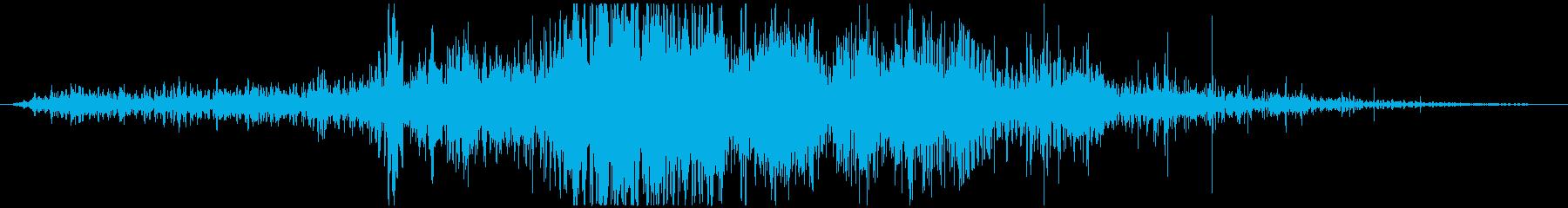 災害 地震01の再生済みの波形