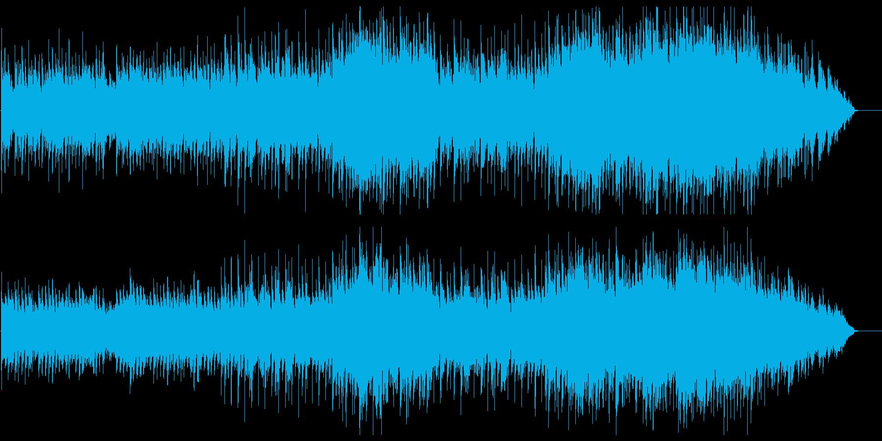 しっとり ブライダル 幸福 陽ざしの再生済みの波形
