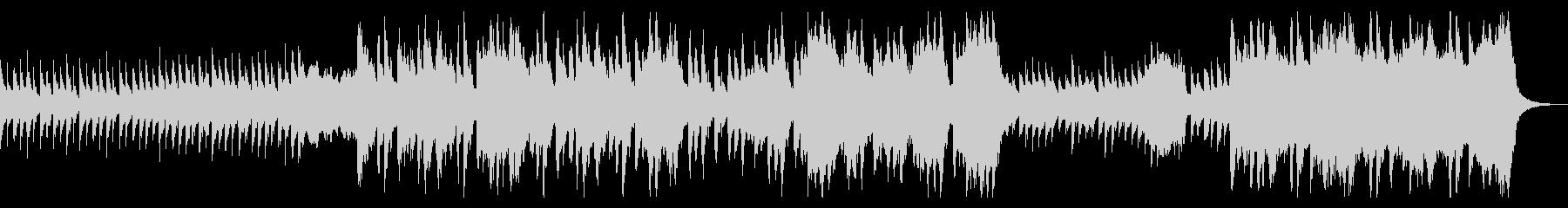 トイピアノが不気味可愛いファンタジーな曲の未再生の波形
