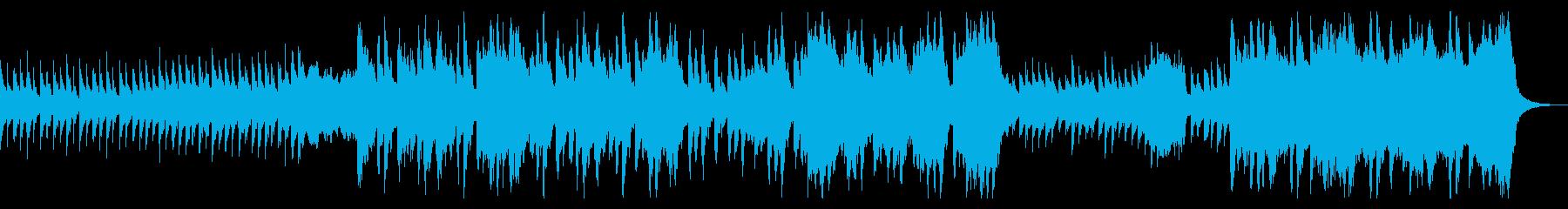 トイピアノが不気味可愛いファンタジーな曲の再生済みの波形