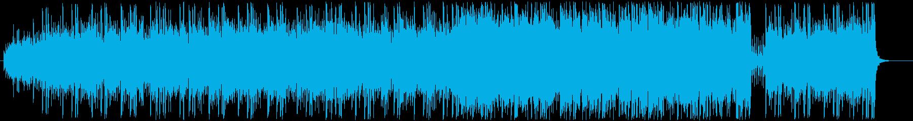 弦と木管が絡み合う柔らかいポップスの再生済みの波形