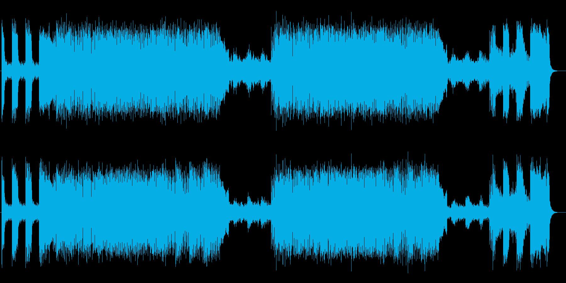 明るく軽やかなギターポップロックの再生済みの波形