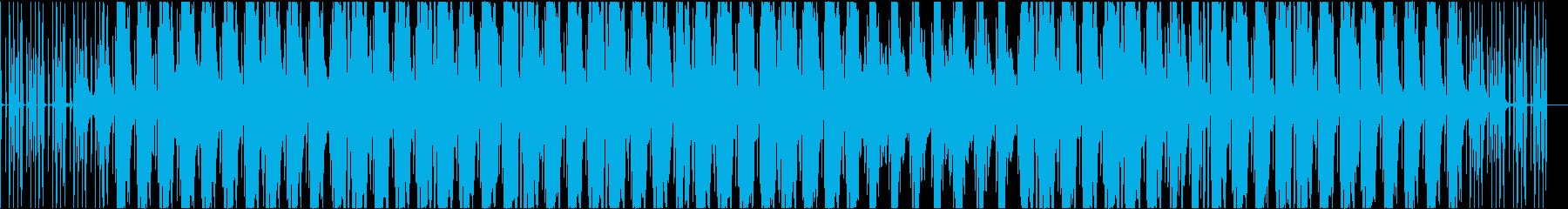 リラックスしたかっこいジャズヒップホップの再生済みの波形