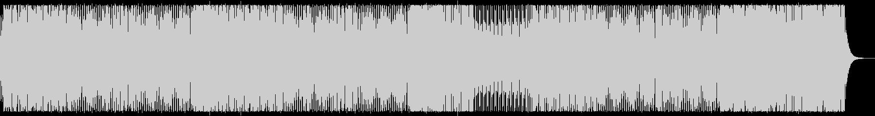 ブラスと打楽器のノリノリラテン風インストの未再生の波形