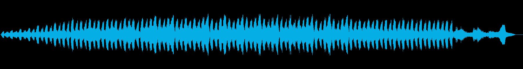 幻想的で恐怖心を高ぶらせる音楽の再生済みの波形